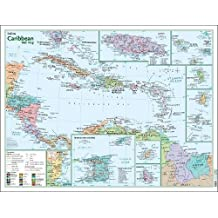 Caribbean Wall Map