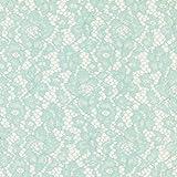 Fabulous Fabrics Spitzenstoff Camelia – mintgrün —