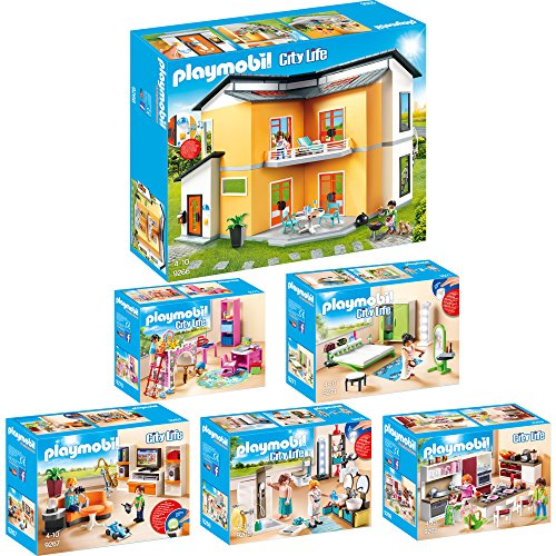 Playmobil City Life Set en 6 parties 9266 9267 9268 9269 9270 9271...