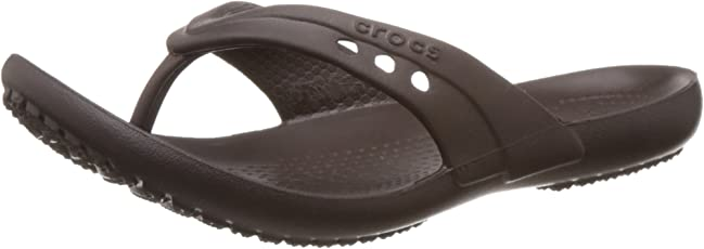 crocs Women's Rubber Clogs and Mules - Flip Flops and House Slippers - Plastic Moulded