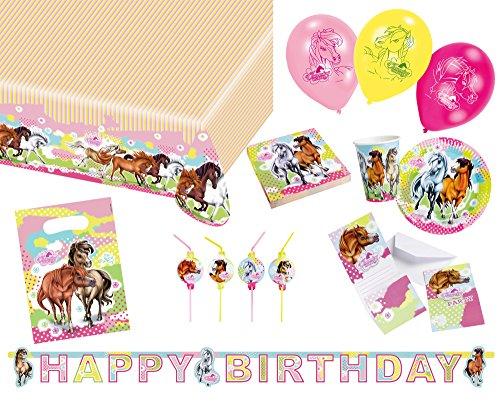 ty Set Geschirr Charming Horses (Pinata Kostüm Für Pferd)