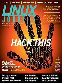 Linux Journal November 2011 by [Hannah, Adrian, Bartholomew, Daniel, Taylor, Dave, Lerner, Reuven]