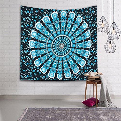 Tapetes impresos Alfombra decorativa de pared de estilo bohemio Tapesty , 150x102