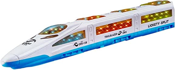 SHOPEE BRANDED UNIVERAL HIGH SPEED METRO EXPRESS BULLET TRAIN EMU WITH 3D FLASH LIGHT & MUSIC GIFT TOY FOR KIDS