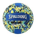 Spalding KOB 72-352Z Balón de Baloncesto, Unisex, Azul/Amarillo, 5