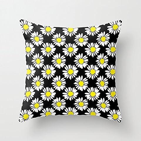 aidoue Bouquet de marguerites dans Love Taie d'oreiller pour décorer un canapé taie d'oreiller 45,7cm