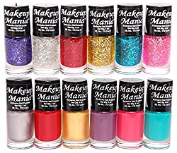 Makeup Mania Nail Polish Set of 12 Pcs (Multicolor Set  92)