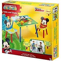 Preisvergleich für Mickey Mouse Sitzgruppe Tisch Kindersitzgruppe Spieltisch Kindertisch Set Micky Maus 527MKS