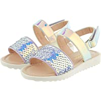 Monsoon Kids Baby Mermaid Sequin Sandals Girls Size 04 Baby Shoe - Multicolour