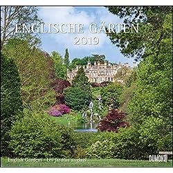 Englische Gärten 2019 – DUMONT Garten-Kalender – mit allen wichtigen Feiertagen – Format 38,0 x 35,5 cm