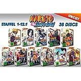 Naruto Shippuden Edition (Staffel 01-12 auf 38 DVDs)