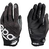 Sparco Meca 3 TG 002093NR2M Handschoenen, maat M, zwart