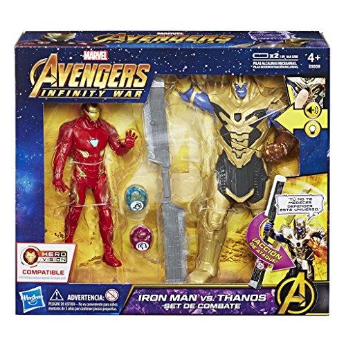 Avengers - Iron Man vs. Thanos Set de combate (Hasbro E0559EW0)