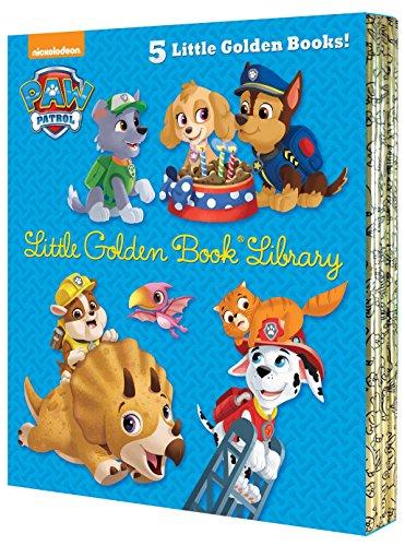 lden Book Library (PAW Patrol) (Paw Patrol: Little Golden Books) ()