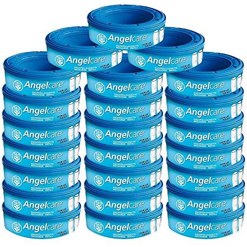 Angelcare 24 Nachfüllkassetten für Windeleimer Comfort, Deluxe und Comfort Plus