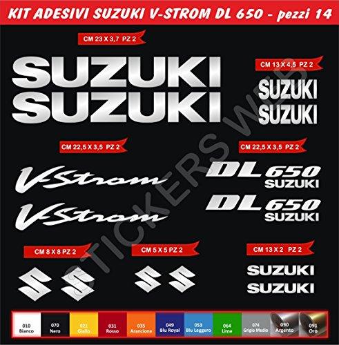 adesivi-stickers-suzuki-v-strom-dl650-vstrom-kit-14-pezzi-scegli-colore-moto-motorbike-cod0084-argen