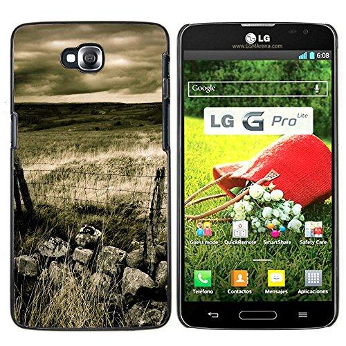 OB-star ( El campo nativo ) LG G Pro Lite / D680 D682TR Impreso Colorido Protector Duro Espalda Funda Piel De Shell