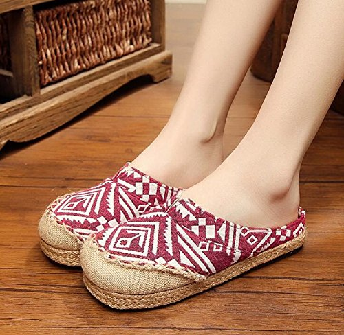Lazutom , Chaussons pour femme red