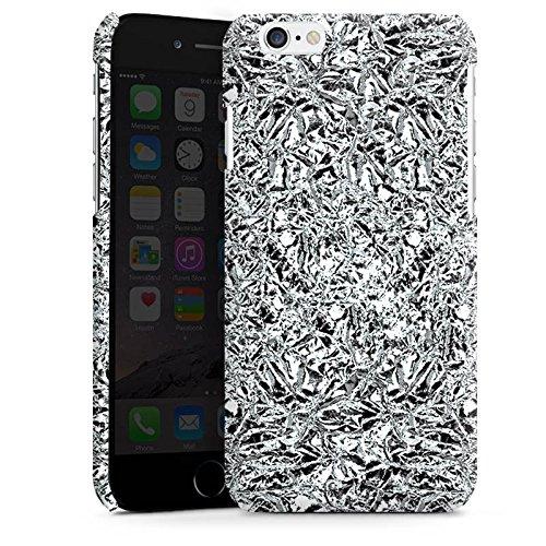 Apple iPhone 5 Housse Étui Silicone Coque Protection Paillettes Argent Brillance Cas Premium brillant