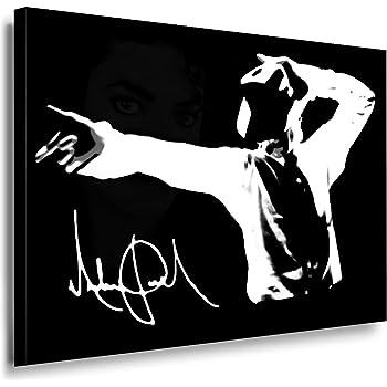 michael jackson kunstdruck 100x70cm k poster bild fertig auf keilrahmen pop art. Black Bedroom Furniture Sets. Home Design Ideas