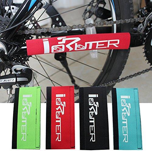 Manguito protector cadena vaina inferior bicicleta