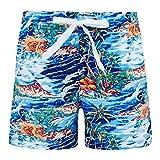 Funnycokid Jungs Surfen Jogginghose 3D Printe Sommer Witzige Palm Tree Badeshorts Bademode Schwimmen Kinder Strand Jogginghose Hosen