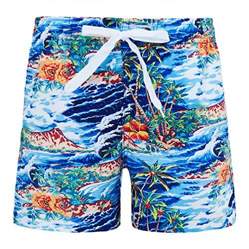 n Sweatpants Shorts Sommer Printed Paim Tree Surfen Schwimmen Tragen Lässige Kinder Sport Badeshorts ()