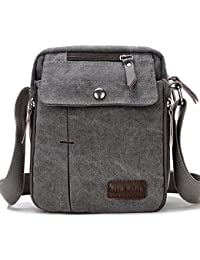 Supa Moden Man Bag Shoulder Bag Canvas Messenger Bag Retro Crossbody Bag  Sports Satchel Bag Small 306e6723dfc48