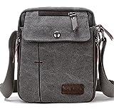 Super Modern Mens Bag Shoulder Bag Men's Messenger Bag Crossbody Bag, Small Canvas Ba...
