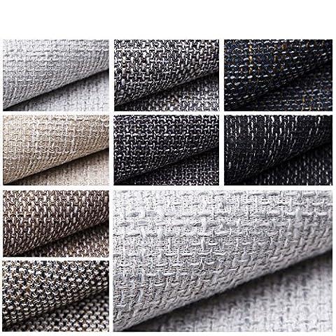 novely LANZ Premium Tissu pour ameublement lourd Caractère toile grob