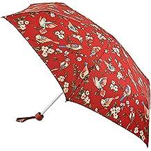 Cath Kidston Paragua plegable, rojo (Rojo) - 5F3066