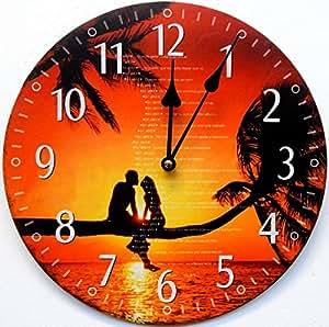Orologio da parete design romanticismo orologio per cucina o salotto nuovo casa e cucina - Orologio parete cucina design ...