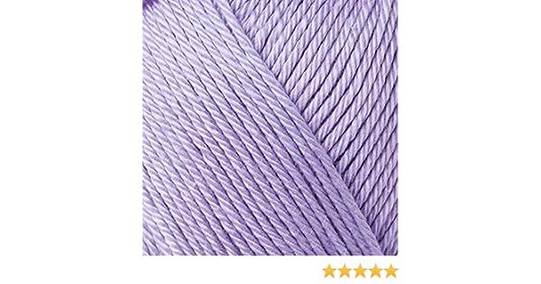 50/g Catania/ /Lavande/ /Couleur: 422/ gasierter et coton merceris/é /Fil estival en peign/é haute qualit/é Schachenmayr original nouvelle couleur 2018