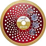 MARCRIST Diamant-Trennscheibe BF850 SilentMax 230 x 22,2 mm Baumaterialien, 1 Stück,1202.0230.22