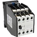 Heschen AC kontaktor CJX1-12/22 220V 50/60Hz spole 3P 3 stift 2NO+2NC 380V 20A 5,5KW