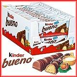 Ferrero Kinder Bueno 30 Doppelriegel á 43g = 1290g MHD: 01.09.18