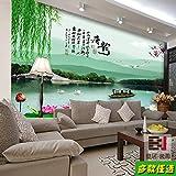 Aolomp Wallpaper der Fernseher im Wohnzimmer Wandbilder benutzerdefinierte Nahtlose großes...