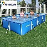 Bestway Pool STEELFRAME Eckig 400 x 211 x 81cm