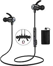 Cuffie Bluetooth ATGOIN 4.1 Auricolare Magnetiche Stereo Wireless per Sport