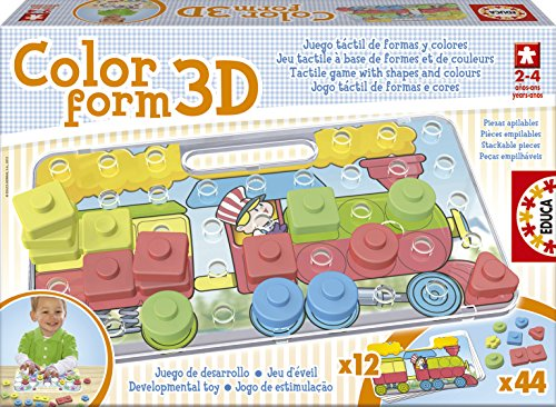 Educa 15498 - Color Form 3D Spiel