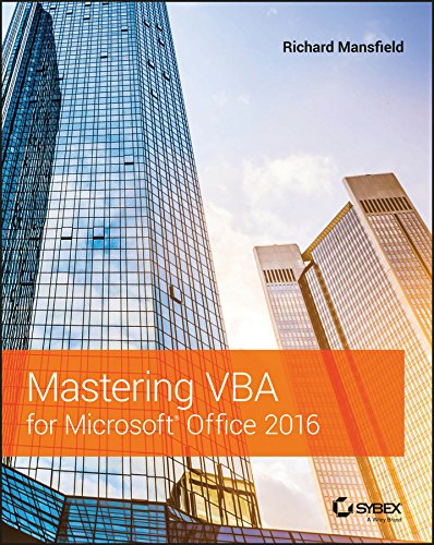 Mastering VBA for Microsoft Offi...