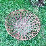 Garteninspiration Feuerschale 50 cm Durchmesser Edelrost
