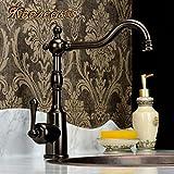 Haer Continental antike Küche Wasserhahn,Braun Bronze