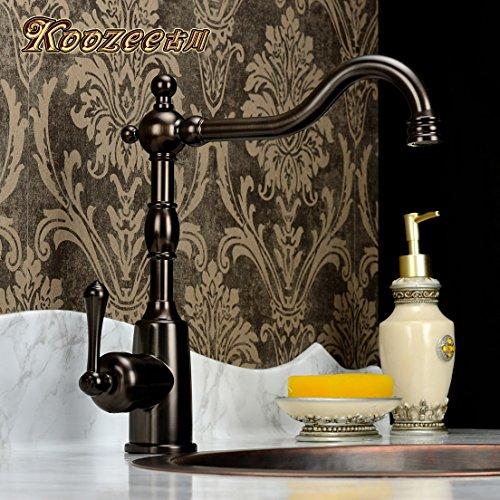 Preisvergleich Produktbild Haer Continental antike Küche Wasserhahn,Braun Bronze
