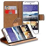Verco Desire 628 Hülle, Handyhülle für HTC Desire 628 Tasche PU Leder Flip Case Brieftasche - Schwarz
