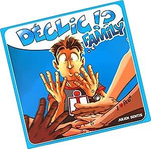 Ferti Games-Juego de salón, Déclic Family, Azul