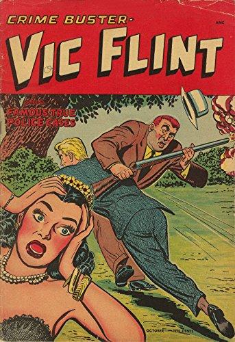 POSTER comics cover St John Vic Flint 2 Vintage Wall Art Print A3 replica