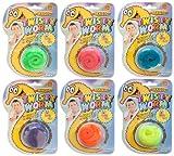 6 x Magic Twisty Worm magischer Wurm Zauberwurm Zaubern Kindergeburtstag