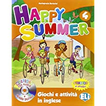 Happy summer. Per la Scuola elementare. Con Multi-ROM: 4
