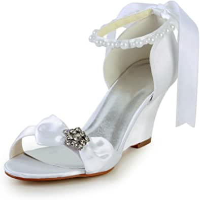 JIA JIA Wedding 121756 Scarpe Sposa Scarpe col Tacco Donna